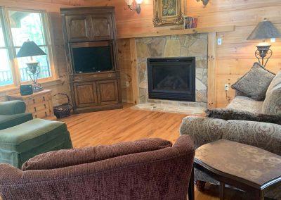 Flame Azalea living room