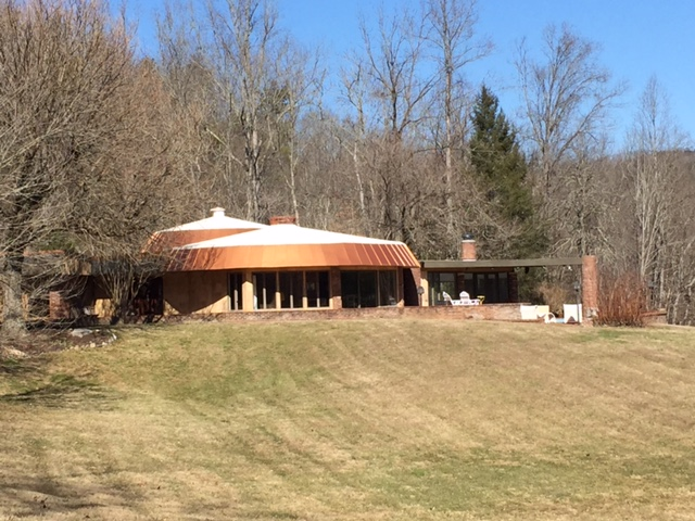 The Round House Modern Vacation Rental Townsend TN